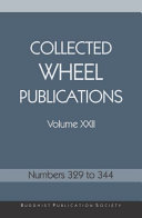 Collected Wheel Publications Volume XXII