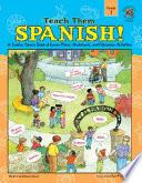 Teach Them Spanish   Grade 1 Book