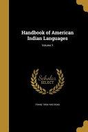 Handbk Of Amer Indian Language