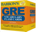 Barron s GRE Vocabulary Flash Cards