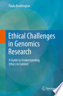 Ethical Challenges in Genomics Research Book