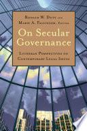 On Secular Governance Book PDF