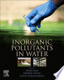Inorganic Pollutants In Water Book PDF