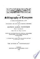 The bibliography of Tennyson, by the author of 'Tennysoniana'.