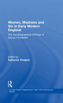 Women, Madness and Sin in Early Modern England