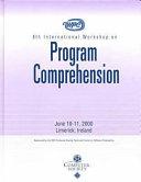 Eighth International Workshop on Program Comprehension