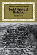 Social History of Timbuktu