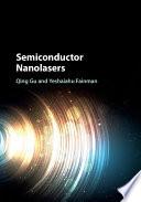 Semiconductor Nanolasers Book