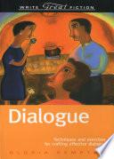 Write Great Fiction   Dialogue