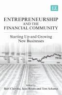 Entrepreneurship and the Financial Community