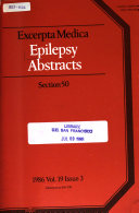 Epilepsy Abstracts