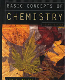Cover of Basic Concepts of Chemistry