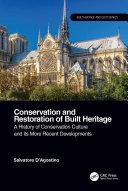 Conservation and Restoration of Built Heritage
