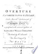 Tippoo Saib  The Overture Favorite Songs and Finale in the Musical Entertainment of Tippoo Saib     The Words by Mr  Lonsdale  Vocal score