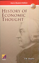 History Of Economic Thought 17th Ed