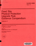 Fixed Site Physical Protection Upgrade Rule Guidance Compendium