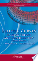 Elliptic Curves  : Number Theory and Cryptography, Second Edition