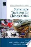 Sustainable Transport for Chinese Cities Book