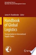 Handbook of Global Logistics
