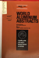 World Aluminum Abstracts