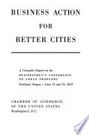 Business Action for Better Cities