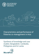 Characteristics and performance of fisheries co management in Asia