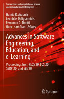 Advances in Software Engineering  Education  and e Learning