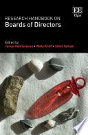 """Research Handbook on Boards of Directors"" by Jonas Gabrielsson, Wafa Khlif, Sibel Yamak"