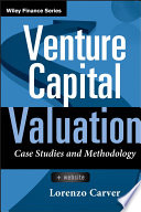 Venture Capital Valuation, + Website