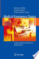 Medical Emergency Teams Book PDF