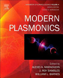 Modern Plasmonics