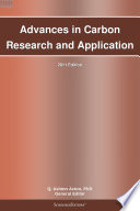 Advances in Carbon Research and Application  2011 Edition