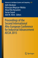 Proceedings of the Second International Afro European Conference for Industrial Advancement AECIA 2015