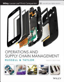 Operations and Supply Chain Management, Loose-Leaf Print Companion