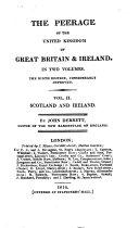 Pdf The Peerage of the United Kingdom of Great Britain & Ireland