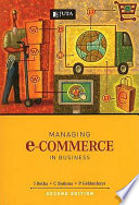 Managing E-commerce in Business