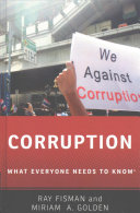 link to Corruption : what everyone needs to know in the TCC library catalog