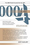 GRE 4000 Pdf/ePub eBook