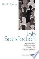 Job Satisfaction Book