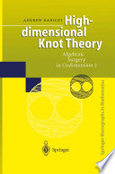 High dimensional Knot Theory