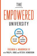 The Empowered University Pdf/ePub eBook