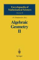 Algebraic Geometry II