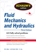Schaum's Outline of Fluid Mechanics and Hydraulics, 3ed