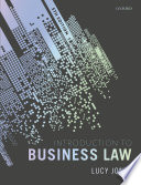 """Introduction to Business Law"" by Lucy Jones"