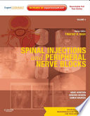 Spinal Injections Peripheral Nerve Blocks E Book Book PDF