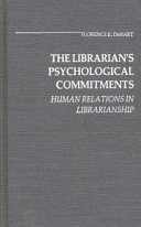 The Librarian S Psychological Commitments Book PDF