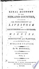 The Rural Economy of the Midland Counties