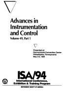 Advances in Instrumentation and Control