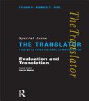 Evaluation and Translation