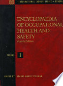Encyclopaedia Of Occupational Health And Safety Book PDF